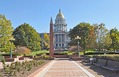Photo of the State Capitol in Denver